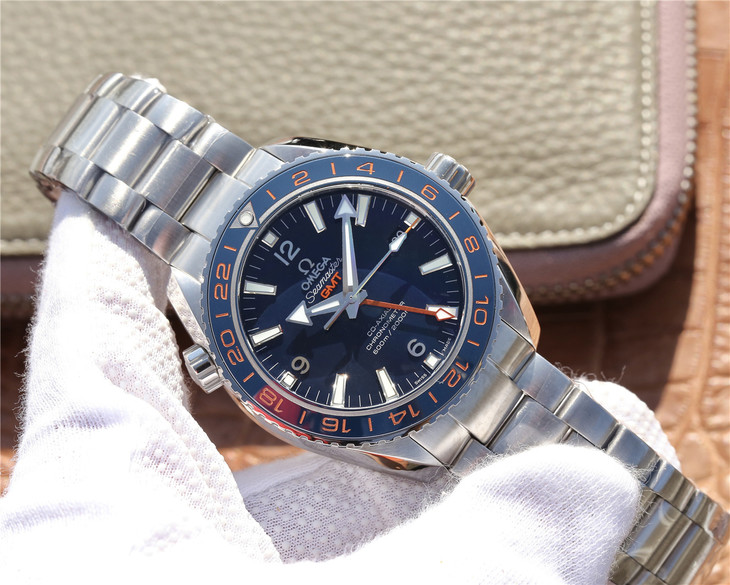 VSF Replica Omega Planet Ocean 600m GMT Blue