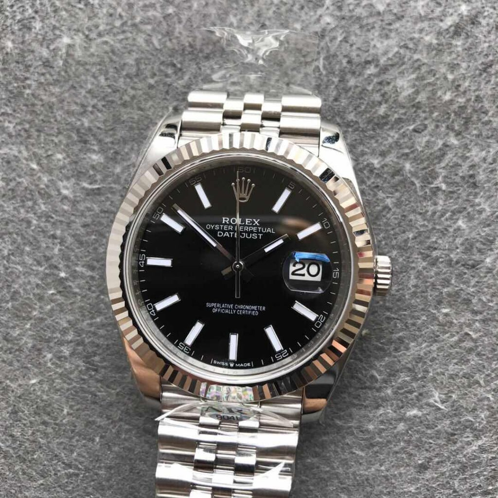 ARF Datejust Black Dial