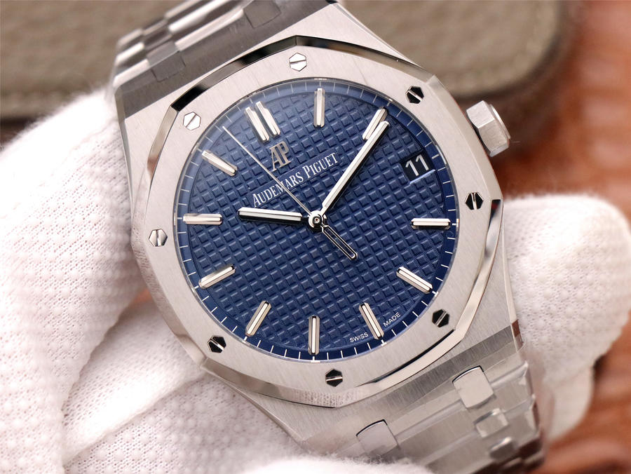 Replica Audemars Piguet 15500 Blue Dial