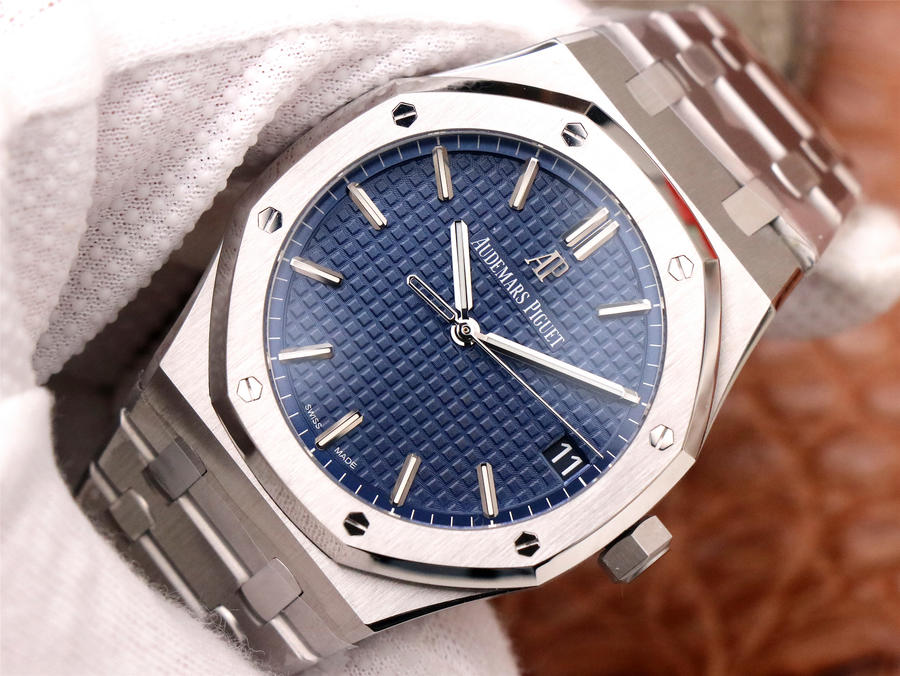 Replica Audemars Piguet Royal Oak 15500 Blue