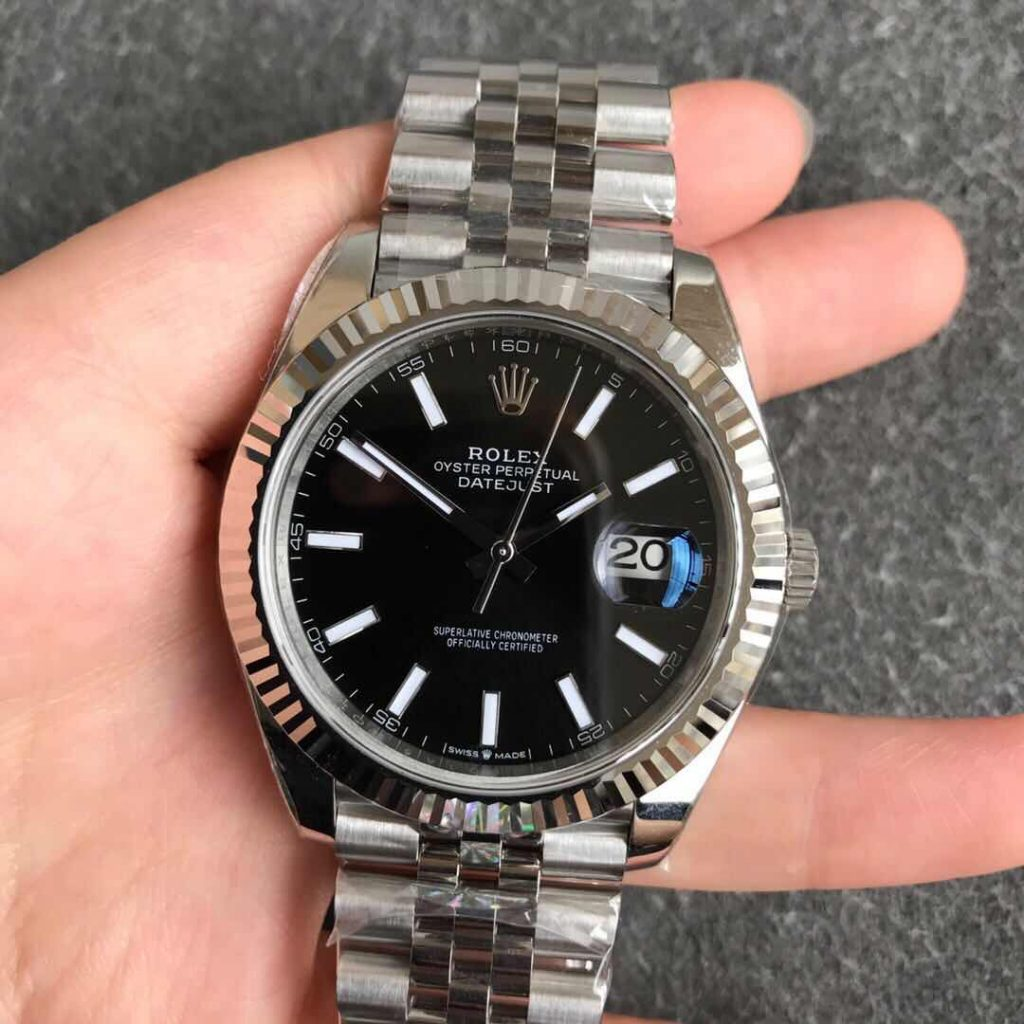 Replica Rolex Datejust II 41mm Black