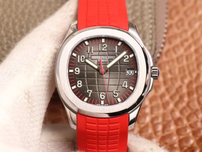 Replica Patek Philippe Aquanaut Red