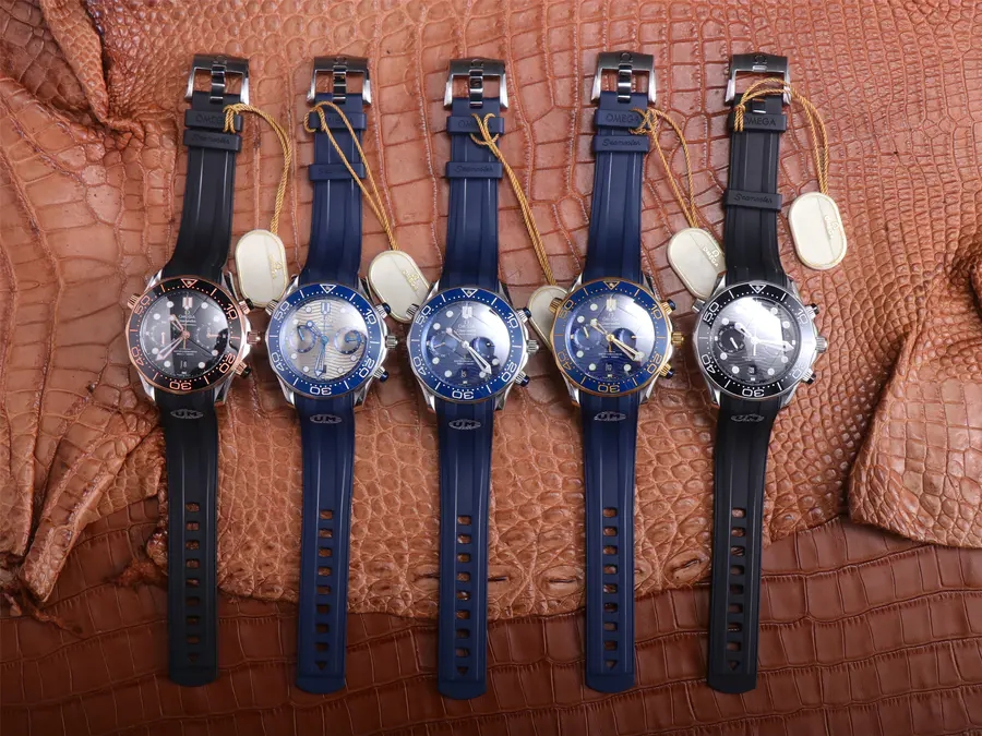 Omega Seamaster Chrono Watch Collection