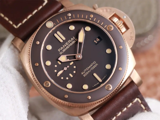 PAM 968 Brown Dial