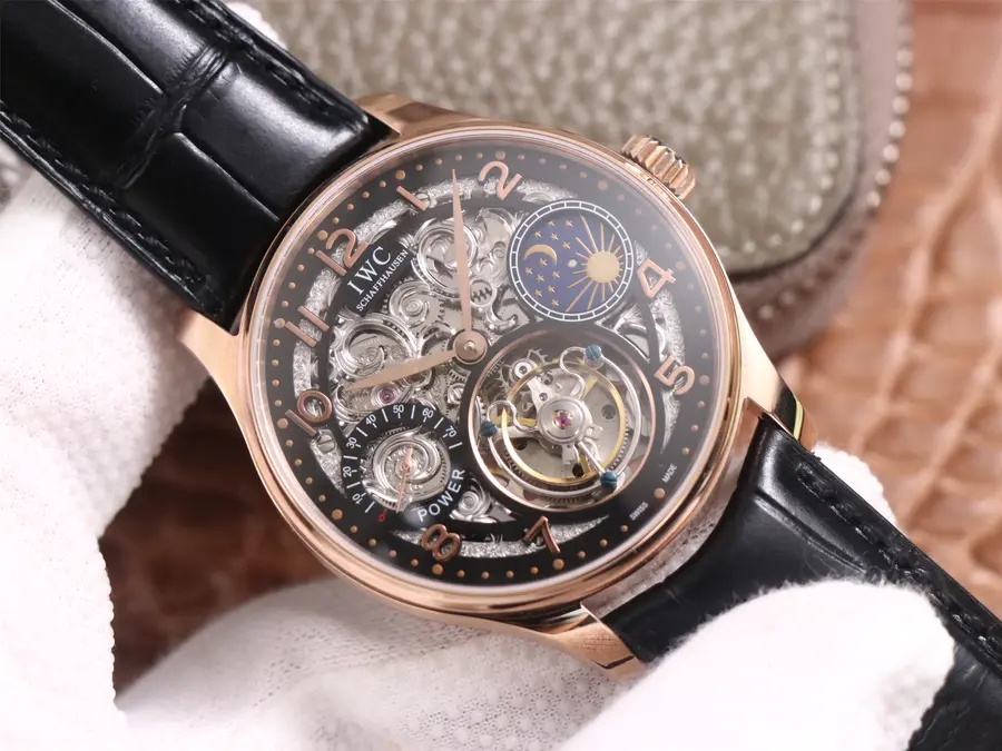 Replica IWC Portuguese Tourbillon Moon Phase