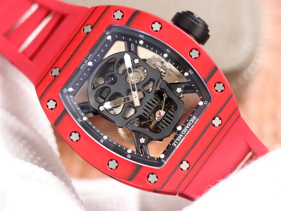Replica Richard Mille Red Watch