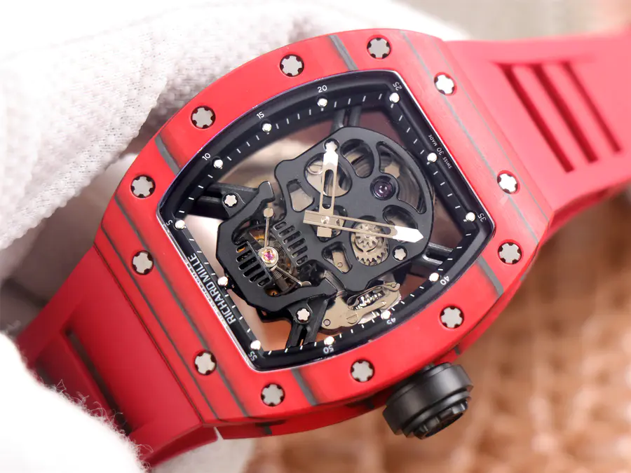 Replica Richard Mille Tourbillon Red
