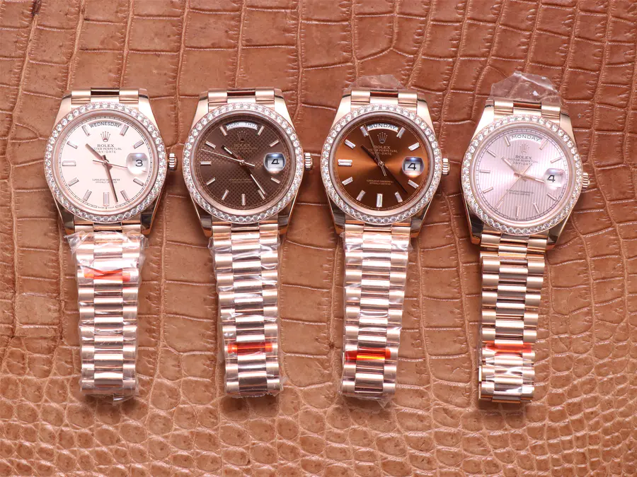 EW Factory Rolex Day-Date Rose Gold Watches Collection