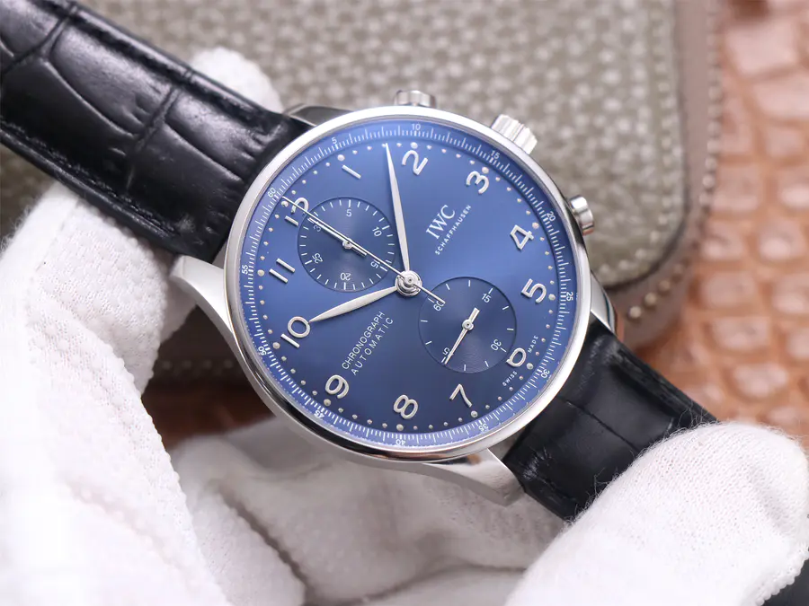 Replica IWC Portuguese Chrono Blue