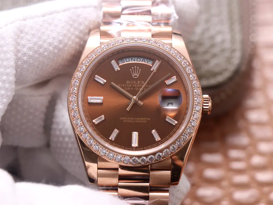 Replica Rolex Day-Date Rose Gold