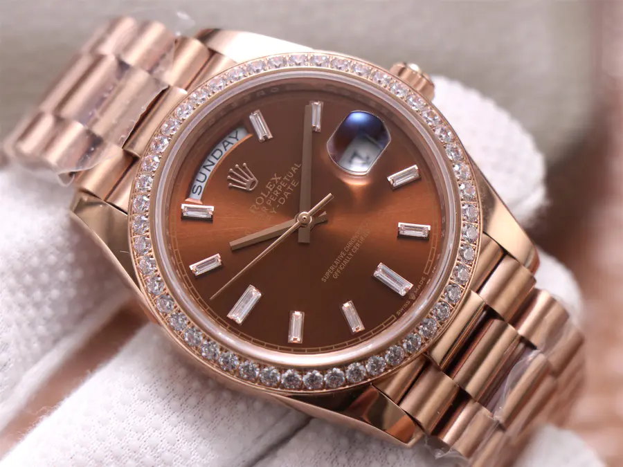 Rolex Day-Date 40mm Rose Gold Dial