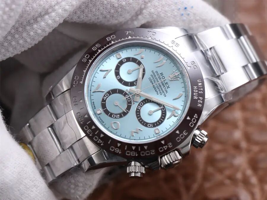 Noob Ice Blue Daytona Watch Replica