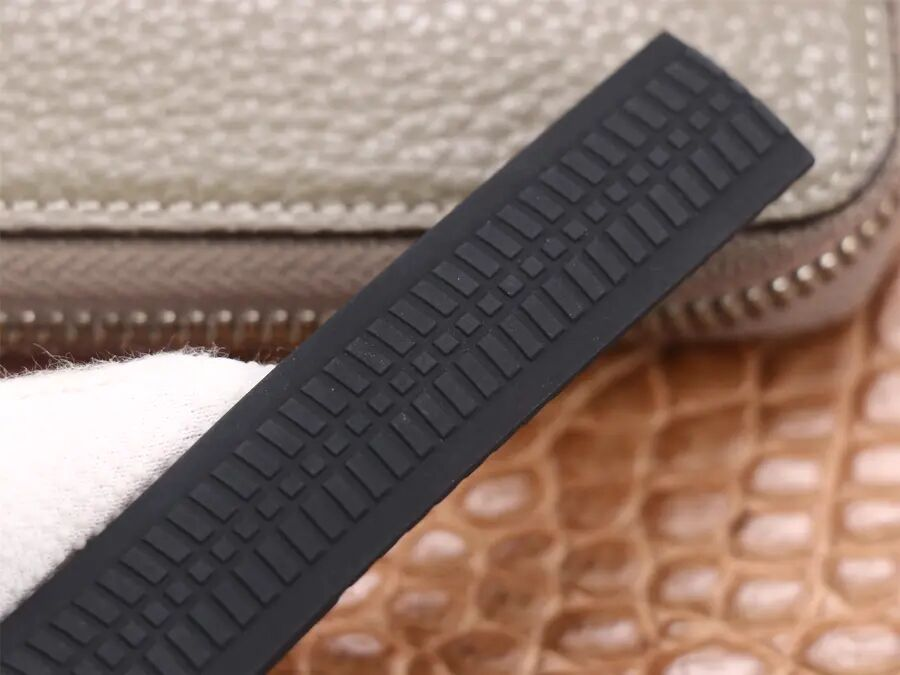 Patek Philippe 5968A Black Rubber Strap