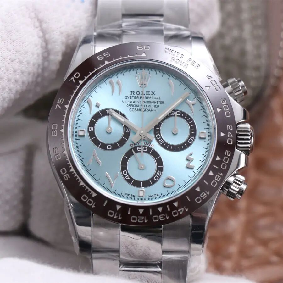 Replica Rolex Daytona Ice Blue Arabic