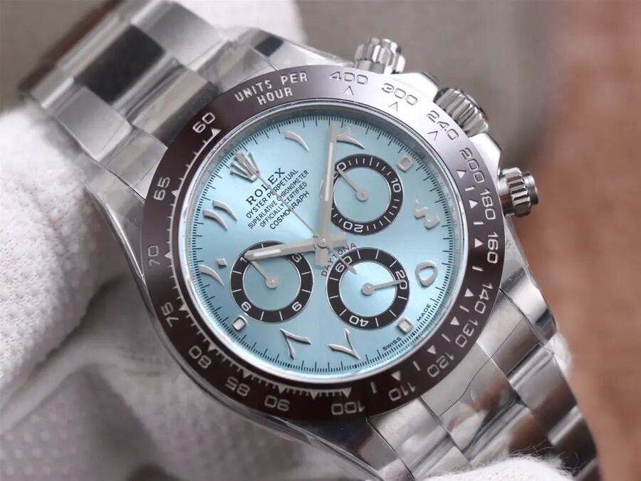 Rolex Daytona Ice Blue Arabic Dial
