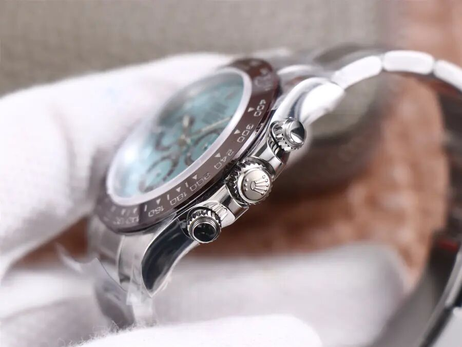 Rolex Daytona Ice Blue Crown