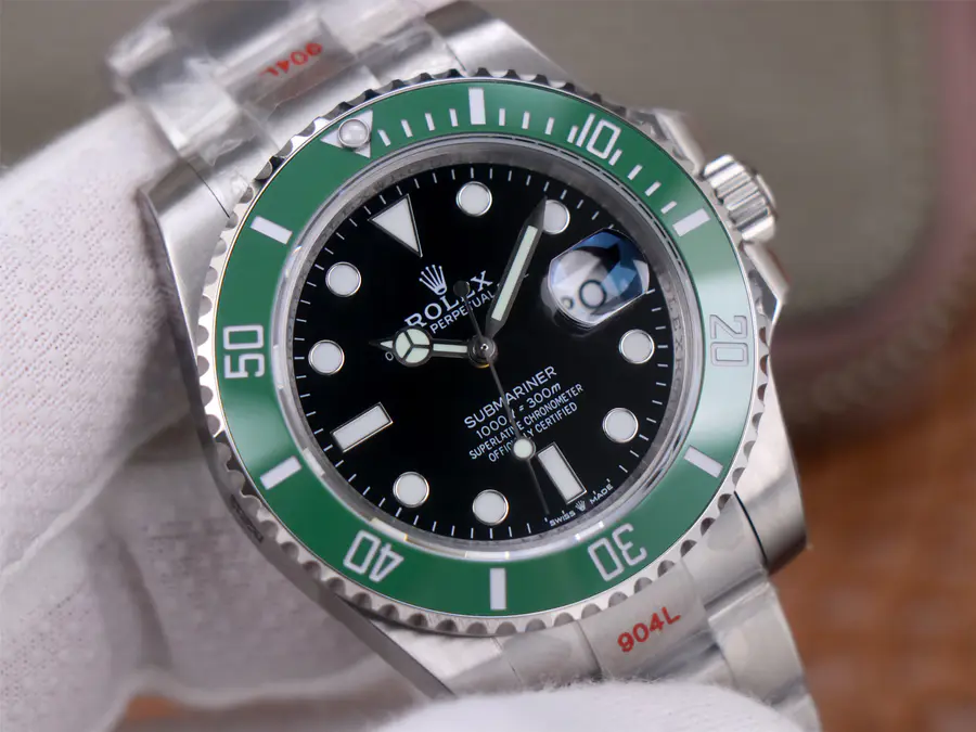 Replica Rolex Submariner 126610LV Black Dial