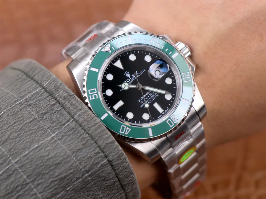 Rolex Submariner 41mm 126610LV Wrist Shot