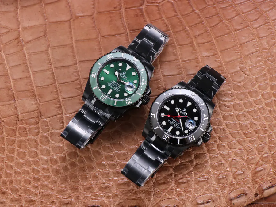 Rolex Submariner Blaken Watches