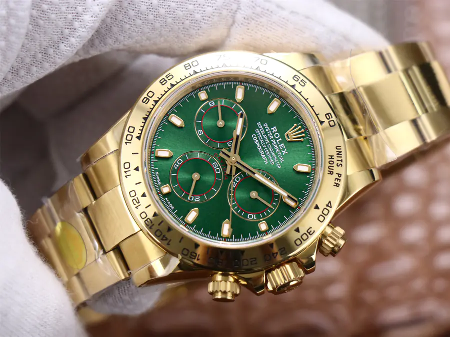 Noob Replica Rolex Daytona Green