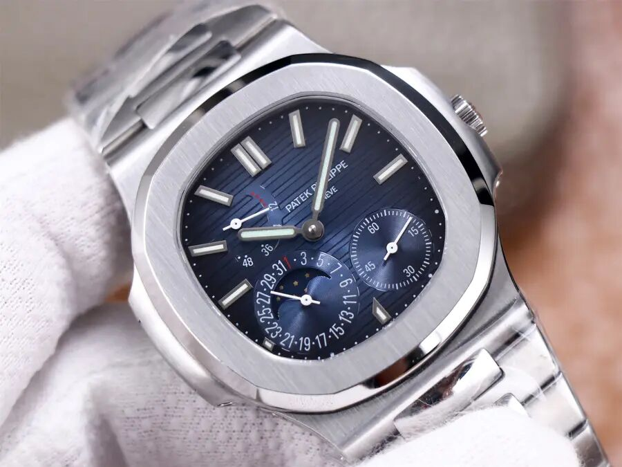 Patek Philippe Moonphase Blue Dial