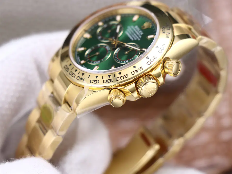 Rolex Green Daytona Crown