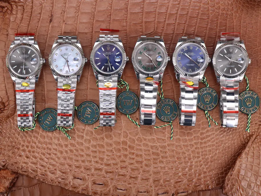 Replica Rolex Datejust 41mm Stainless Steel Collection