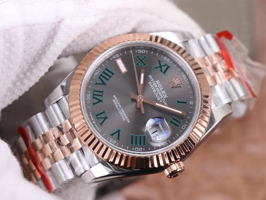 Replica Rolex Datejust 41mm Two Tone from TW Factory