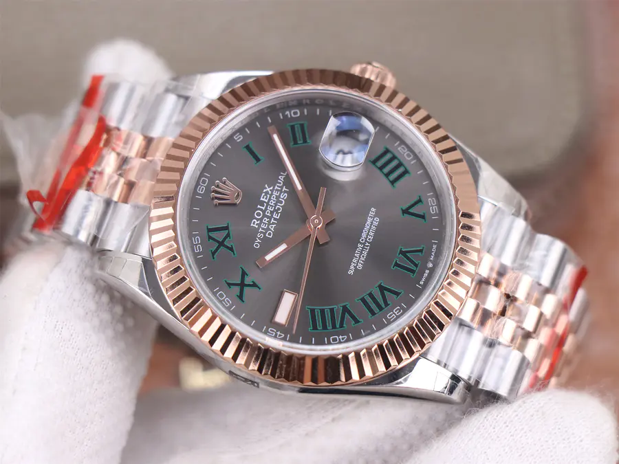 Replica Rolex Datejust II Tow Tone Rose Gold Watch