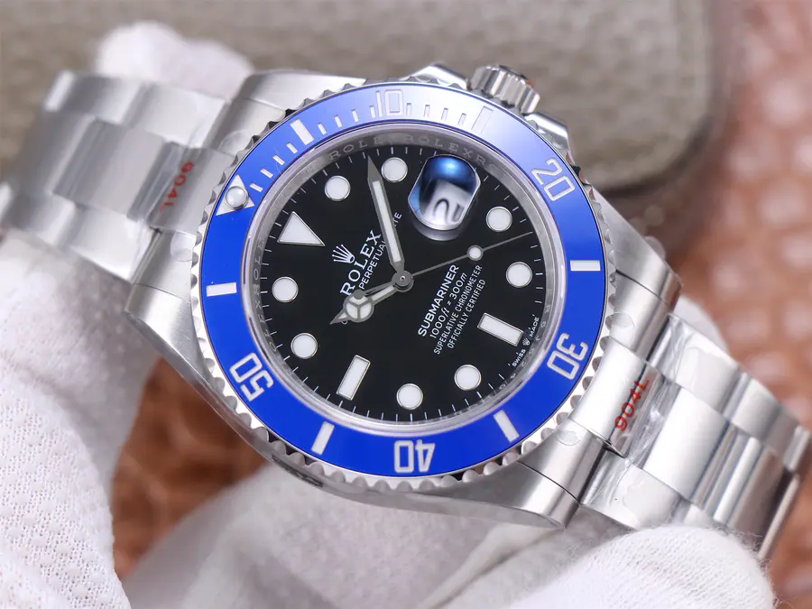 Replica Rolex Submariner Blue 126610