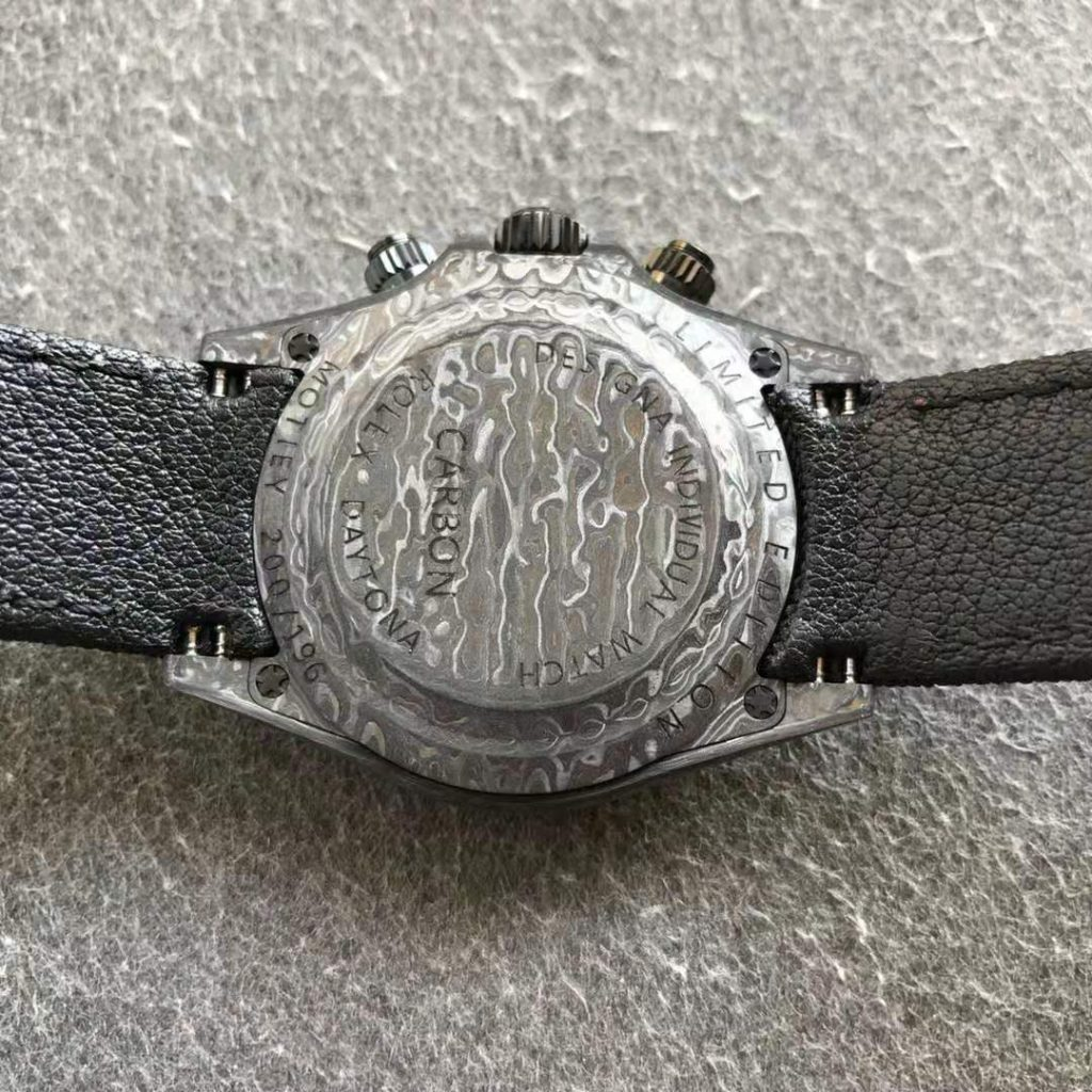 Rolex DIW Daytona Carbon Case Back