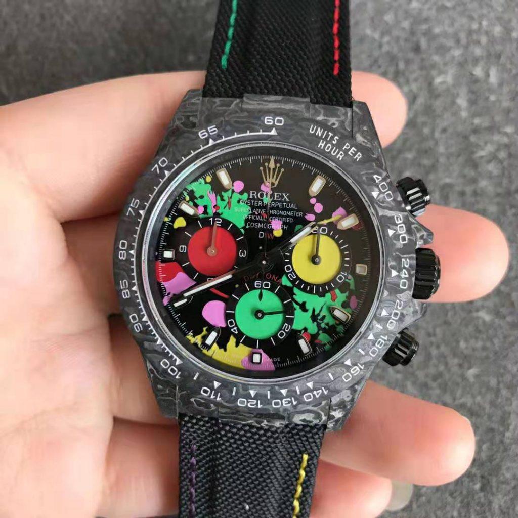 Rolex DIW Daytona Carbon Watch