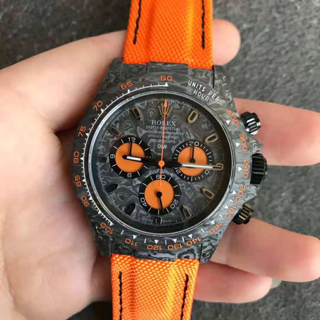 Rolex DIW Daytona Orange Replica