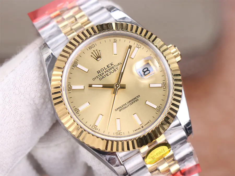 Rolex Datejust II Golden Dial