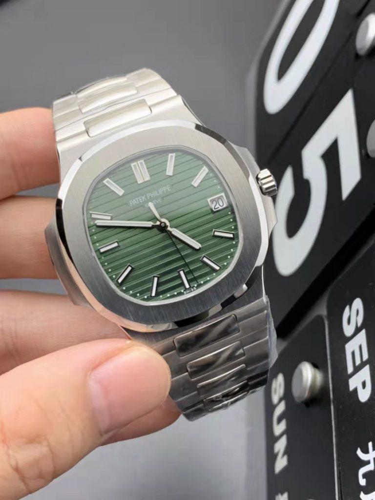 Replica Patek Philippe Nautilus 5711 Green Dial